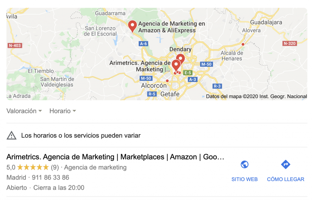 Local Pack Google My Business